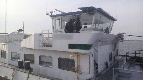 В Херсонской области задержали три танкера с контрабандным дизельным топливом