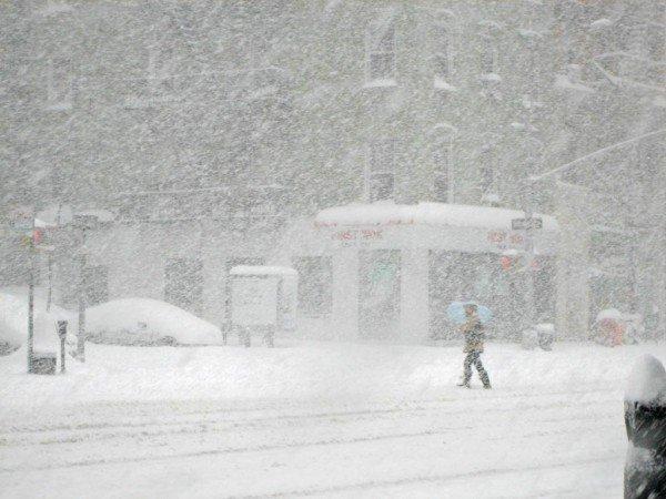 Штормовое предупреждение: на Украину надвигается снежная буря