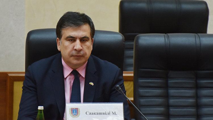 Саакашвили собрался жить в аэропорту