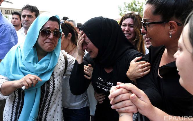 В Турции объявлен национальный траур
