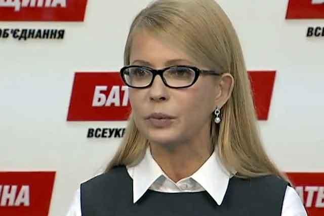 Тимошенко уличили во лжи