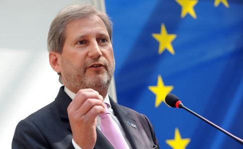 Еврокомиссар Хан призвал ускорить безвиз для Украины