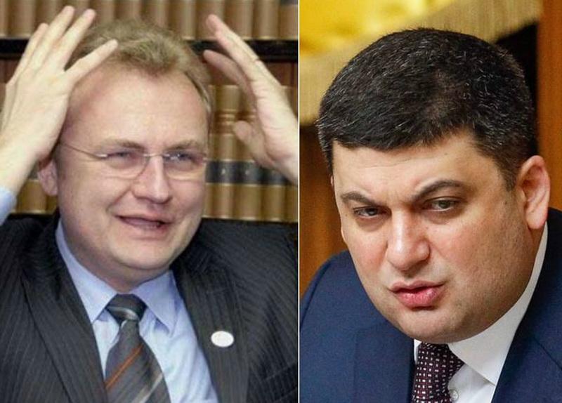 Львов обеднеет на 700 миллионов: Садовый испугался Гройсмана, который планирует уменьшить бюджет для Львова