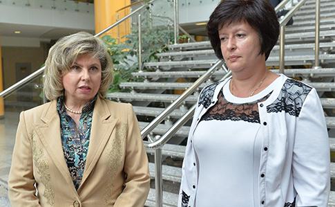 Лутковская: омбудсмен РФ обещает вернуть крымских заключенных в Украину