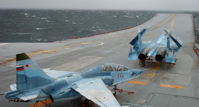 В сети смеются с очередного российского самолета-утопленника