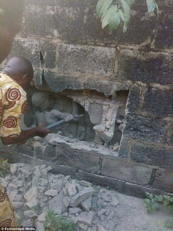 Как он выжил: подросток три дня пробыл замурованным в стене (ФОТО)