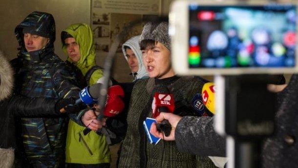 Савченко рассказала о своей просьбе к Порошенко
