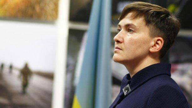 Савченко заявляет, что знает причины боев на Светлодарькой дуге