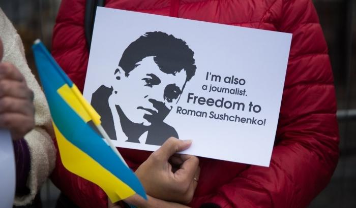 Франция поможет освободить украинского журналиста из плена Кремля