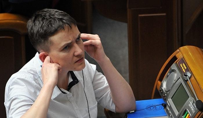 Савченко не понравился вопрос о разговоре с главарями боевиков