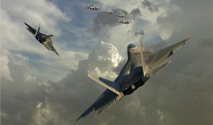 Правительство разрешило военным сбивать вражеские самолеты