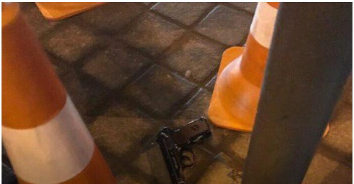 В центре Львова задержали мужчину, который размахивал пистолетом
