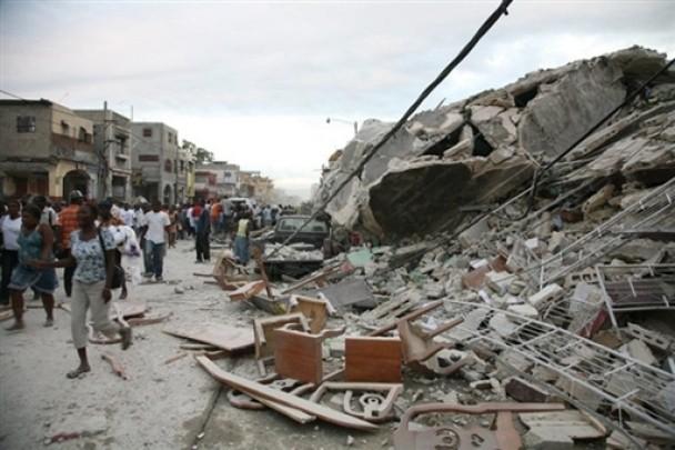 Страшное землетрясение произошел в Китае