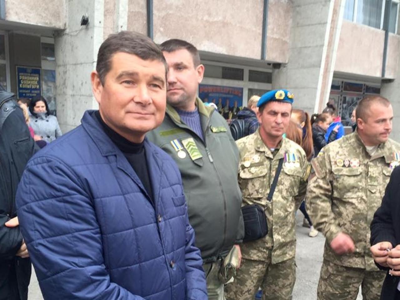 Луценко говорит о тонах доказательств против Онищенко