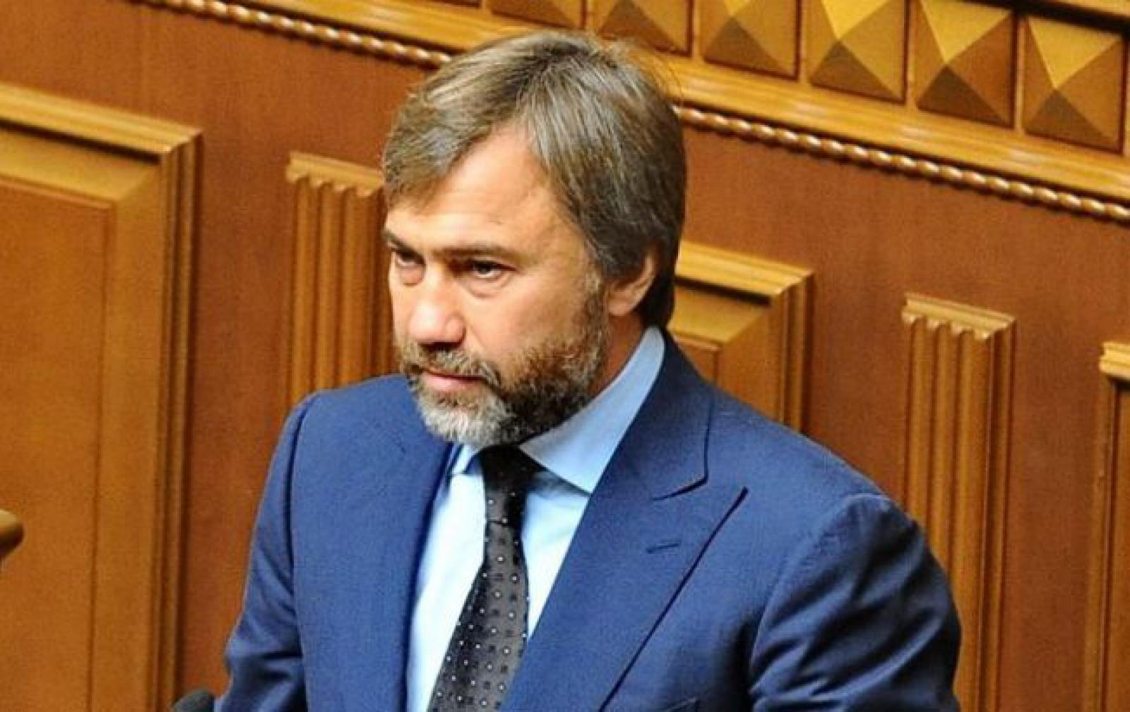 Новинский заявил, что после снятия неприкосновенности не будет убегать из Украины
