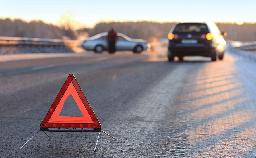 Во Львове произошло ДТП на объездной при столкновении четырех автомобилей (ФОТО)