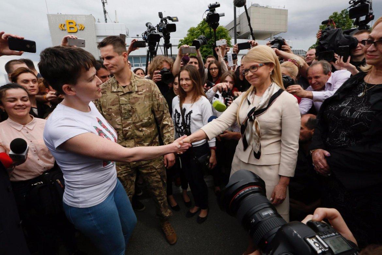 Тимошенко сделала громкое заявление по Савченко: ей здесь не место