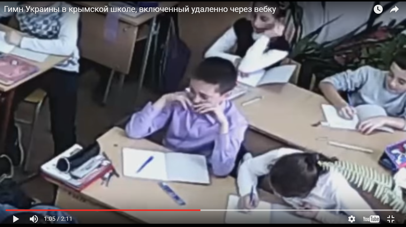 Ради слез этого ребенка, надо штурмом идти на Крым и освобождать от оккупантов наших патриотов