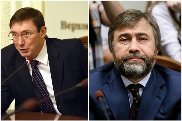 СРОЧНО: Новинский — у меня есть компромат на Луценко, весь цивилизованный мир ахнет!
