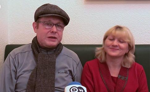 Освобожденному из плена Жемчугову в Германии вернули зрение и слух