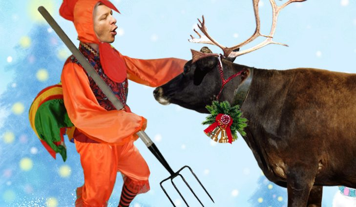 Хохочите на здоровье: петух Ляшко, олень Парасюк и халк Кличко. Как должны одеться на новогоднюю ночь наши политики (ФОТОЖАБЫ)