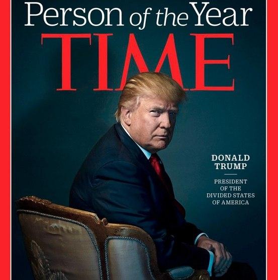 Президент «Разделенных Штатов Америки»: Дональд Трамп стал человеком года
