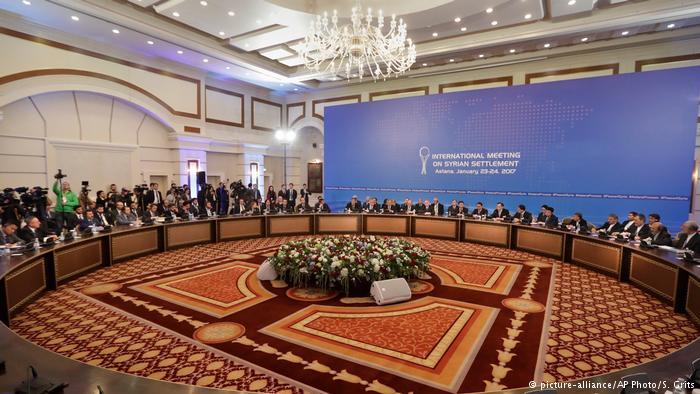 «А-ля Нормандская четверка». В Астане договорились Россия, Иран и Турция будут контролировать перемирие в Сирии