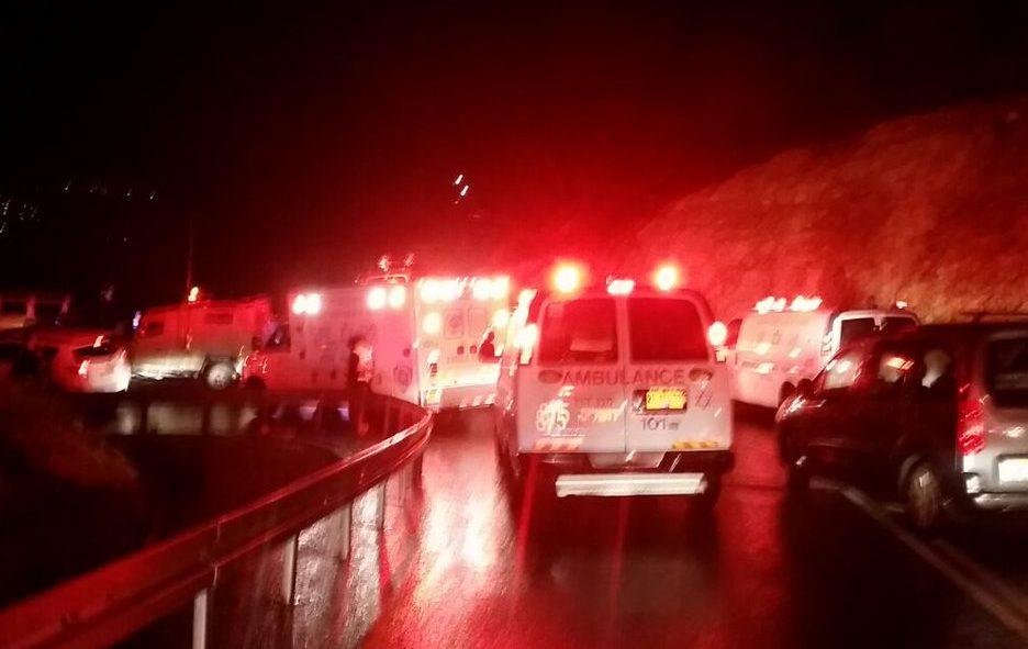 Смертельное ДТП в Израиле автобус упал со скалы (ФОТО)