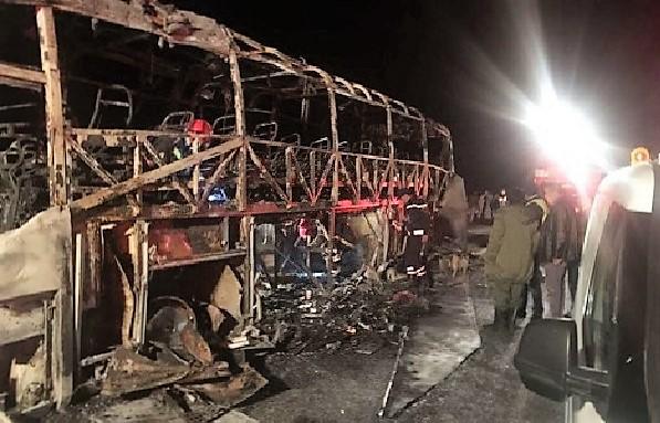 От этого аж мурашки по коже: десять пассажиров сгорели заживо, а более двадцати в тяжелом состоянии от ожогов (ФОТО, ВИДЕО)