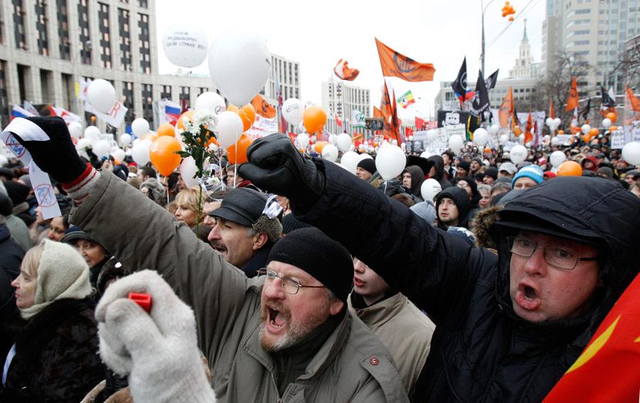 Срочно! Украинцы массово начали выходить на акцию протеста