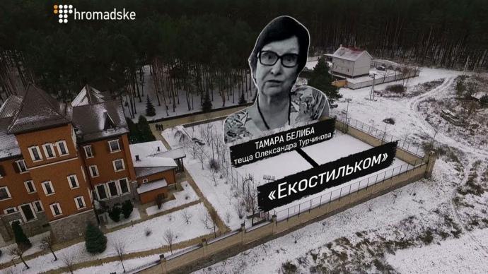 Теща и сын Турчинова в прошлом году приобрели роскошные дома под Киевом