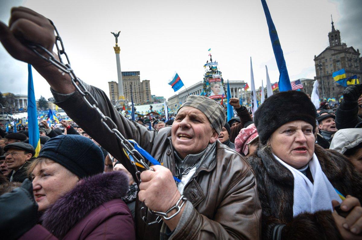 Киевский автомитинг живо обсуждают в соцсетях