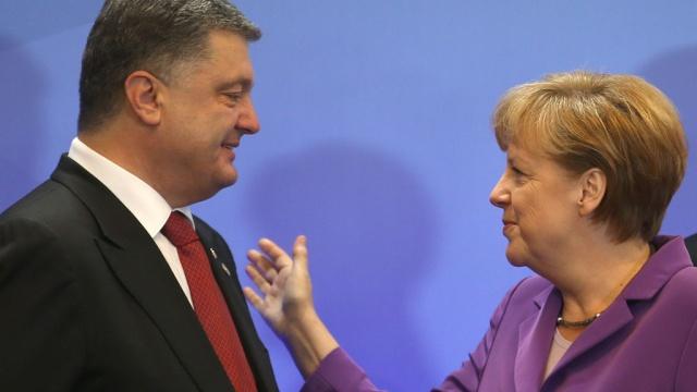 Тайна раскрыта: стало известно о чем будут говорить Порошенко и Меркель