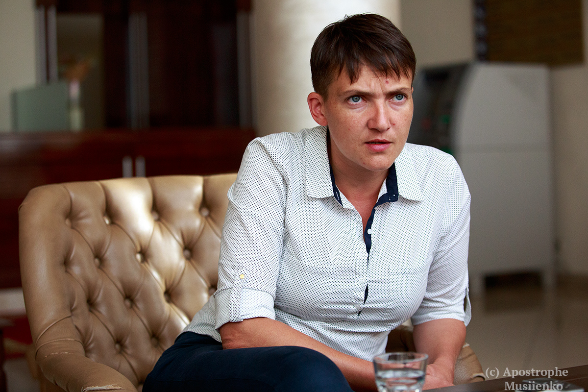 Очередное шокирующее заявление от Савченко ошеломило сеть (ФОТО) Люди реагируют по-разному