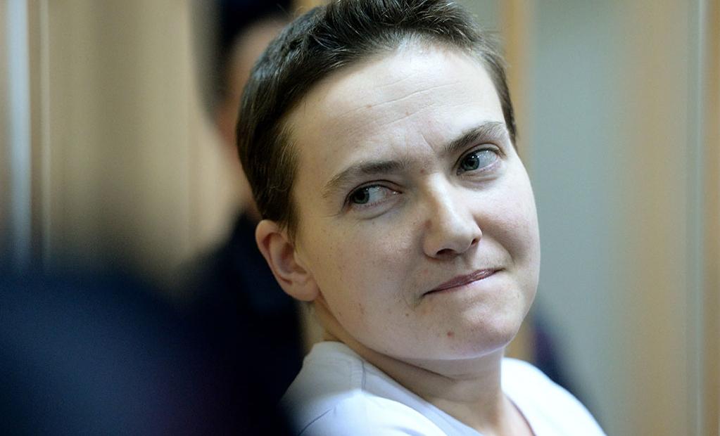 Пленница Савченко рассказала про свои интимные отношения с террористом ЛНР