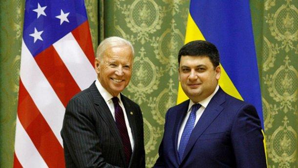 Наобещал: Гройсман поклялся Байдену продолжать изменять Украину