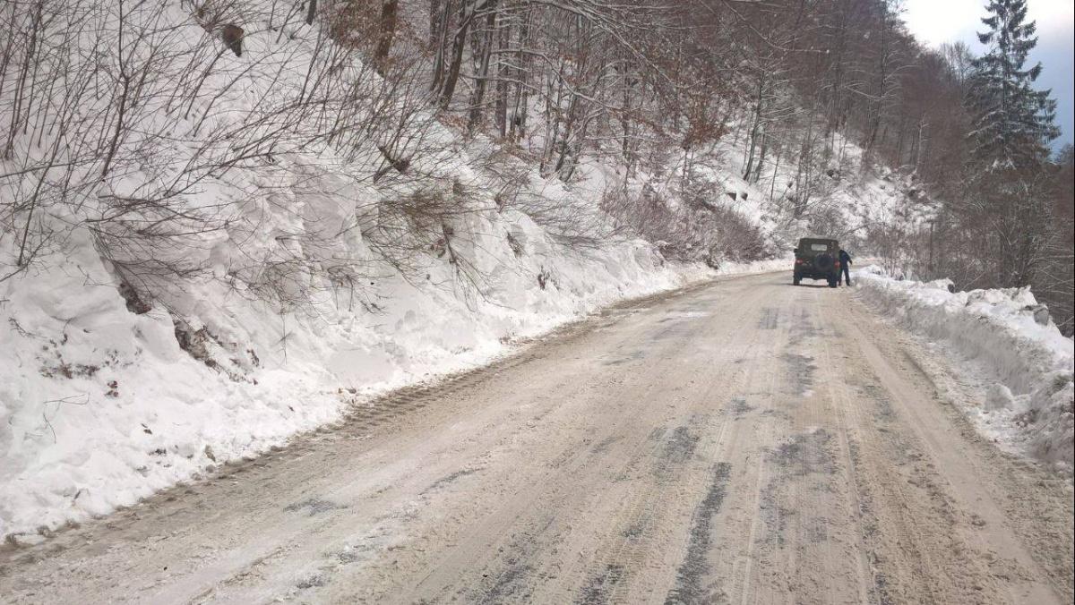 ГосЧС: На дороги Закарпатья сошло 6 лавин