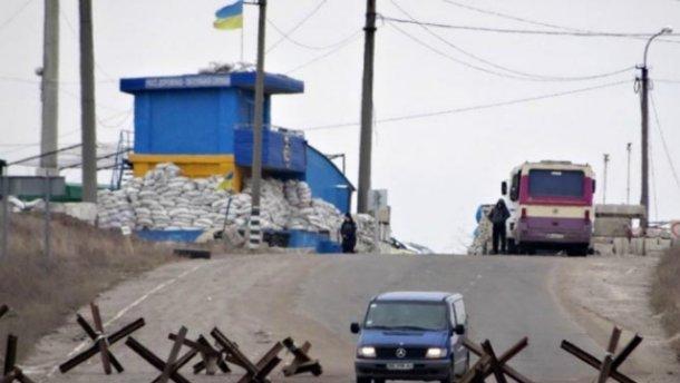 Террористы обстреляли пункт пропуска в Марьинке
