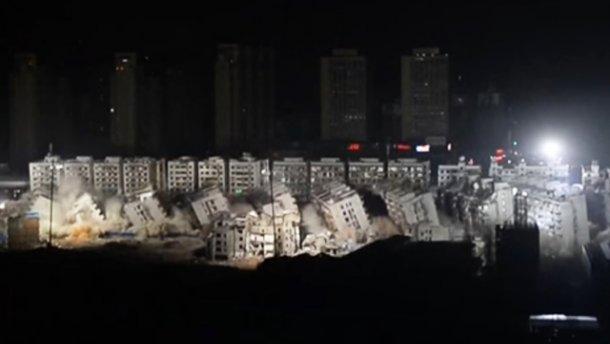 Ужасная трагедия: в Китае взорвали десятки многоэтажек