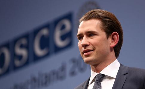 Курц: Конфликт в Украине — приоритет для Австрии в ОБСЕ