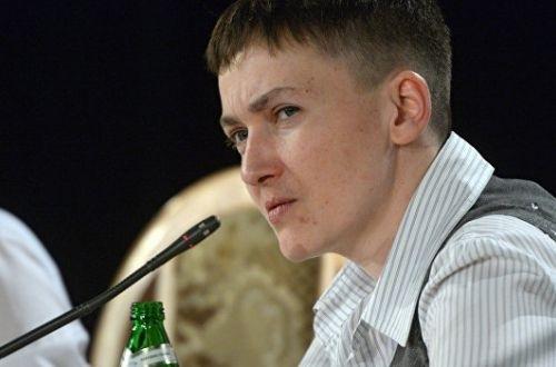 Савченко объяснила, зачем ей еще один список пленных