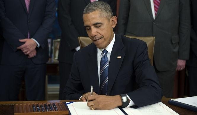 Прощальный подарок Путину: Обама продлил санкции на год