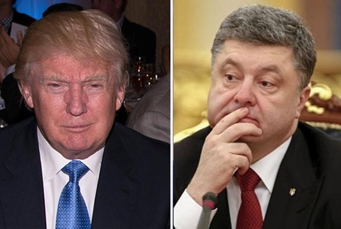 СМИ: Трамп вынуждает Порошенко мириться с Россией