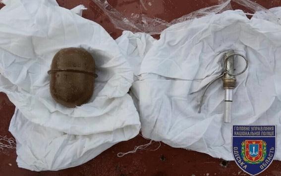 Совсем нет ума: мужчина развесил на заборе гранаты
