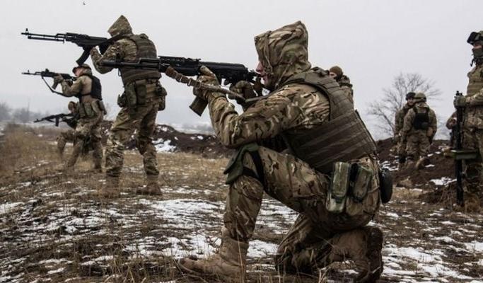 Воины АТО выбили оккупантов со стратегической высоты