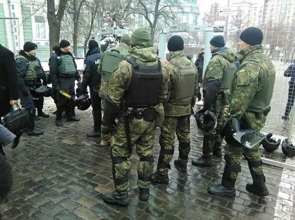 Депутаты хотят метить бойцов Нацгвардии