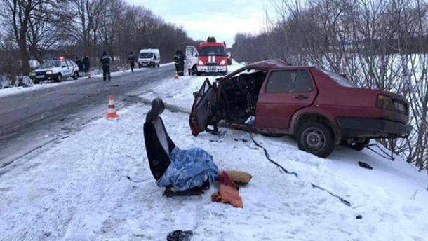 Смертельное столкновение авто на Полтавщине: погиб молодой человек