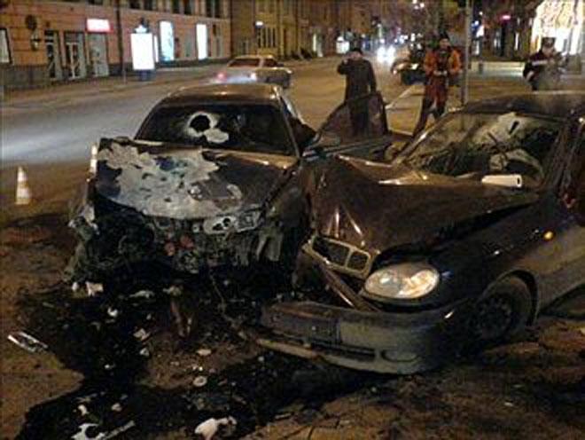 В Киеве пьяный водитель совершил страшное ДТП (ФОТО)