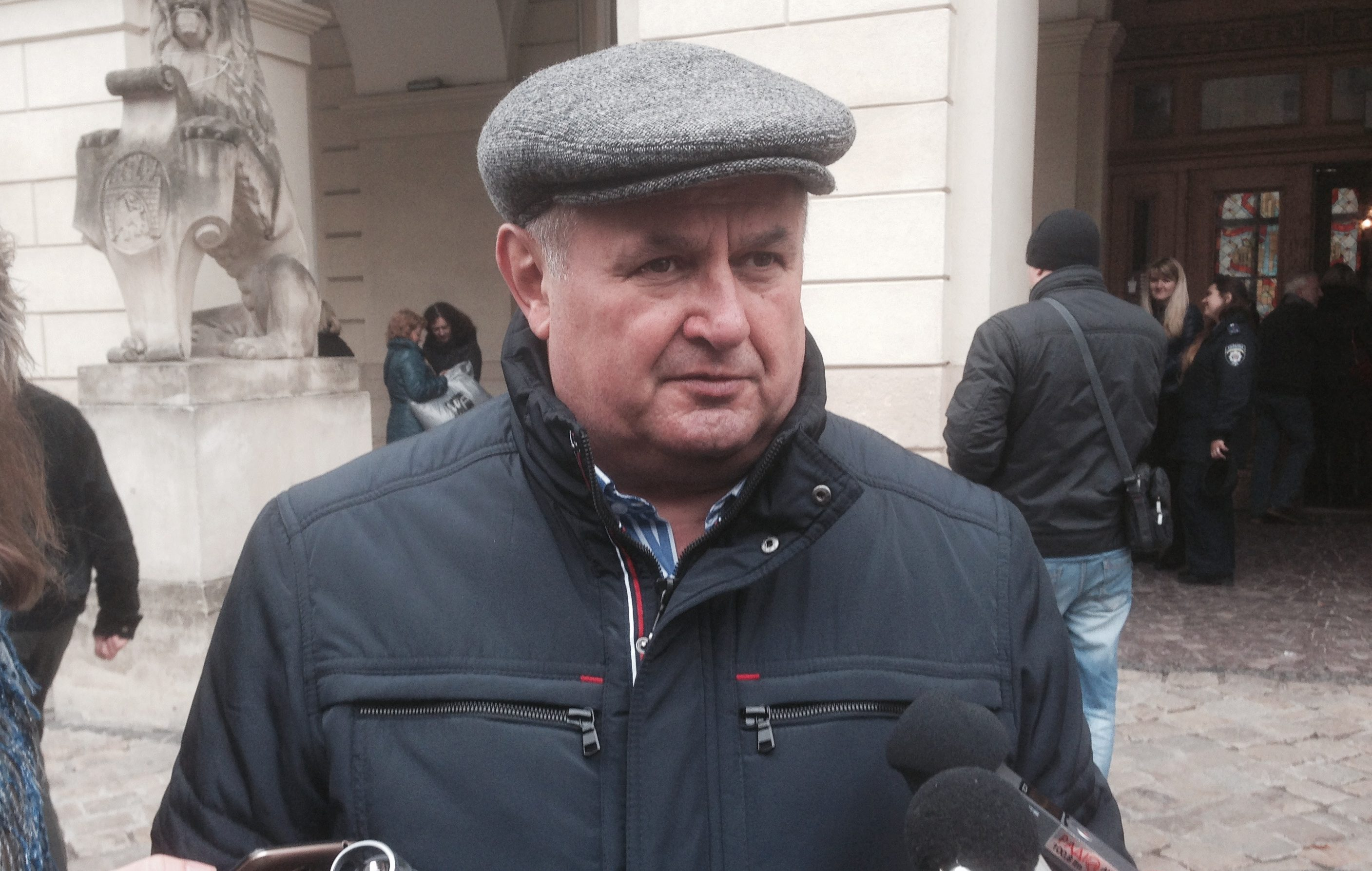 Им что, заслепило?!: Во Львовском городском совете не заметили транспортного коллапса — Виктор Щир