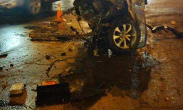 Масштабная авария в Харкове: столкнулось 7 машин. Они разбиты вдребезги (ФОТО)